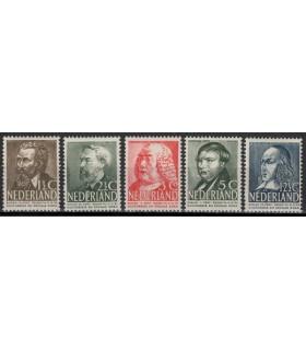 318 - 322 Zomerzegels (xx) Bkeus