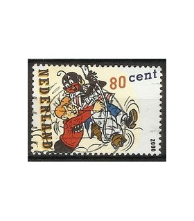 1922 Strippostzegel (o)