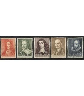 490 - 494 Zomerzegels (x)