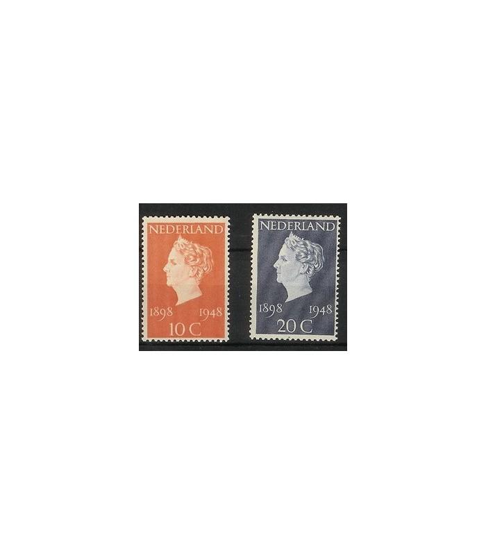 504 - 505 Jublieumzegels (xx)