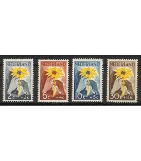 538 - 541 NIWIN-zegels (x)