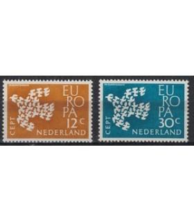 757 - 758 Europazegels (xx)