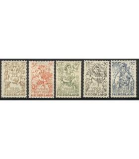544 - 548 Kinderzegels (x)
