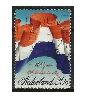 1010 NederlandseVlag zegels (o)