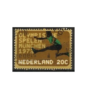 1012 Olympiade-zegels (o)