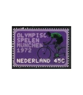 1014 Olympiade-zegels (o)