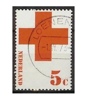 1015 Rode Kruis zegel (o)