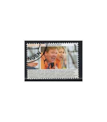 3207 Willem Alexander en Maxima (o)
