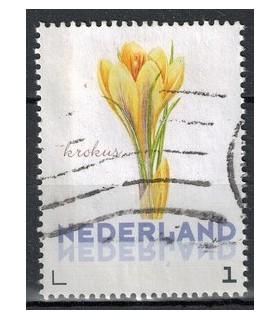 3012 Ac-01 Bloemen voorjaar krokus (o)