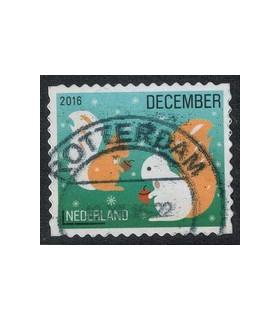 2016 Kerstzegel (o) 4.