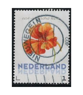 3012 Ac-05 Bloemen najaar oost-indische kers (o)