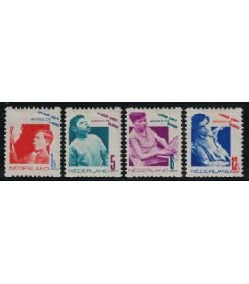 R90 - R93 Kinderzegels (x)