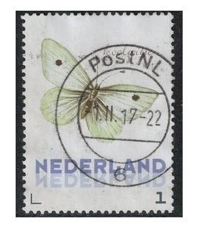 3012 Ac-06 Vlinders najaar koolwitje (o)
