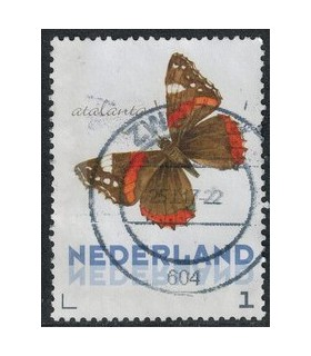 3012 Ac-06 Vlinders najaar atalanta (o)