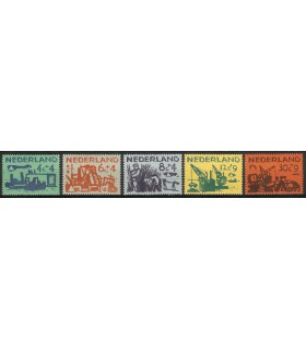 722 - 726 Zomerzegels (x)