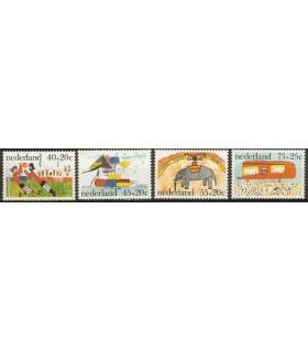 1103 - 1106 Knderzegels (xx)