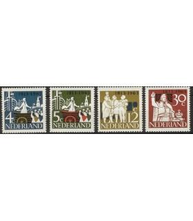 807 - 810 Onafhankelijkheidszegels (xx)