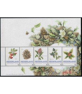 3012 Ac-07  Bloemen winter (xx)
