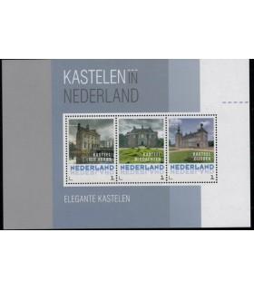 3012 D14 Kastelen in Nederland elegante (xx)