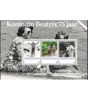 3012 D7 Koningin Beatrix 75 jaar (xx)