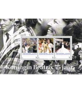3012 D8 Koningin Beatrix 75 jaar (xx)