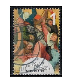 3378 Jheronimus Bosch monniken vechten (o)