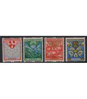 R74 t/m R77 Kinderzegels (x)