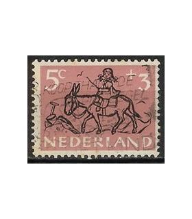 597 Kinderzegel (o)