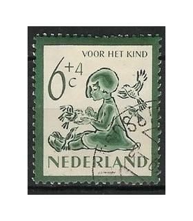 565 Kinderzegel (o)
