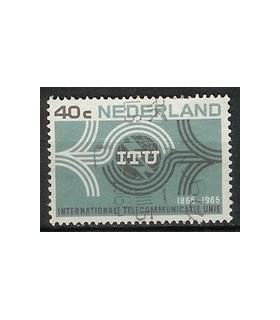 841 I.T.U. zegel (o)