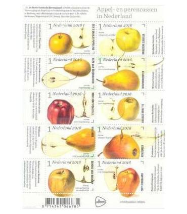 3431 - 3440 Appel en perenrassen (xx) vel