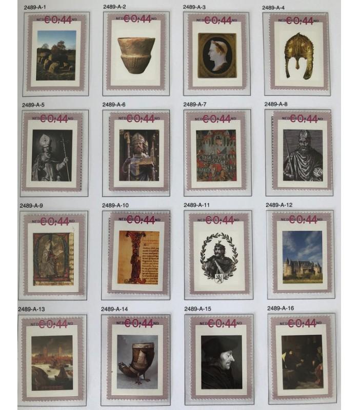 2489a De Canon van Nederland 100stuks (xx)