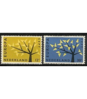 777 - 778 Europazegels (xx)