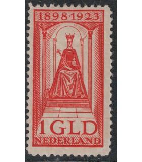129 Jubileumzegel (xx)