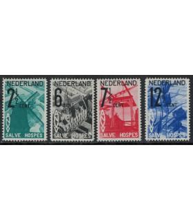244 - 247 ANVV Zegels (xx)