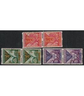 R71 - R73 Kinderzegels (o) verticaal paar