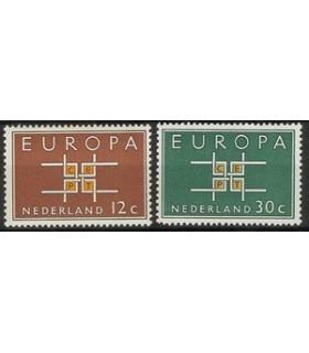 800 - 801 Europa zegels (x)