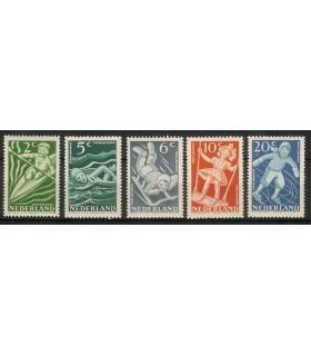 508 - 512 Kinderzegels (x)