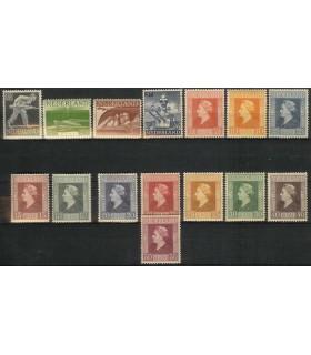 428 - 442 Bevrijdingszegels (xx)