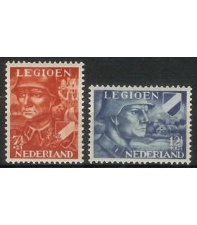 402 - 403 Legioenzegels (xx)