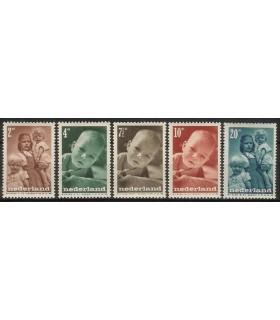 495 - 499 Kinderzegels (x)