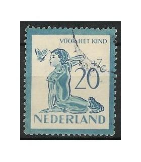 567 Kinderzegel (o)