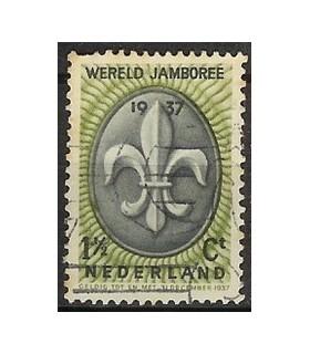 293 Jamboree zegel (o)