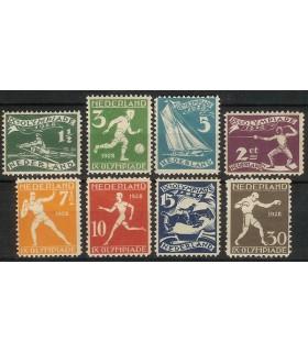 212 - 219 Olympiadezegels (x)