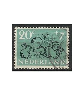 600 Kinderzegel (o)
