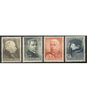 283 - 286 Zomerzegels (x)
