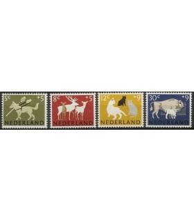812 - 815 Zomerzegels (xx)