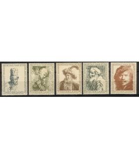 671 - 675 Zomerzegels (xx)