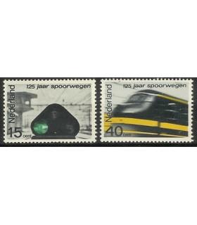 818 - 819 Spoorwegzegels (xx)