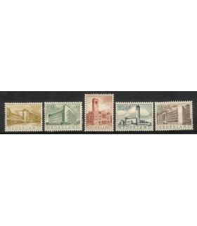 655 - 659 Zomerzegels (xx)